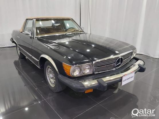Mercedes SL 450 70's