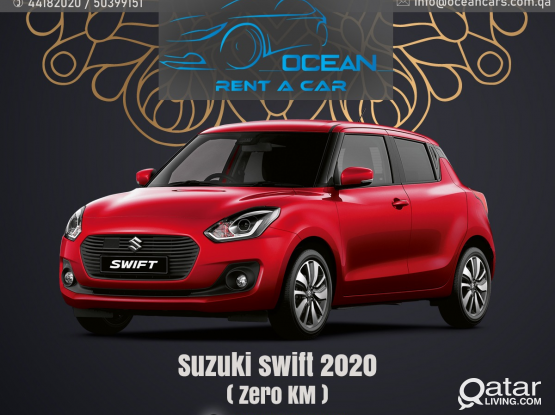 OCEAN RENT A CAR GIVING BIG OFFER PRICE FOR SUZUKI SWIFT 2019/2020 MODEL BRAND NEW CAR !! AVAILABLE FOR RENT NOW!! CALL US . 50399151/44182020/31696859