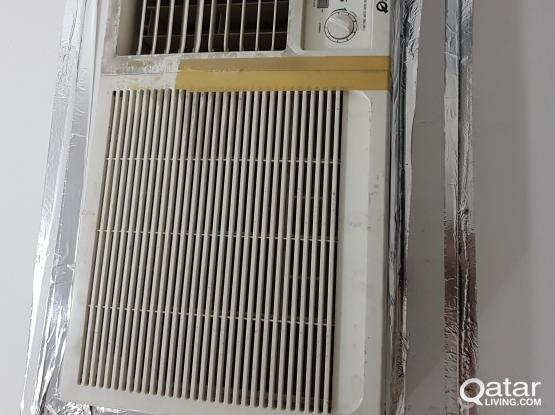 WINDOW AC 1.5 TON  (OSCAR MAKE) FOR SALE AT VERY CHEAP PRICE OF QAR.250.00 ONLY