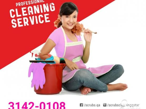 SCRUBS CLEANING, DOHA QATAR