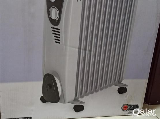 Black and Decor room heater for sale