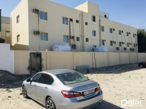 Labor camp 36 rooms available at industrial area street 45 together or partially for rent