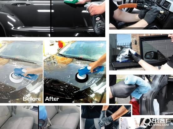 Deep cleaning of vehicle interior