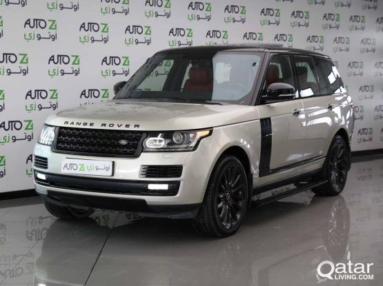 Land Rover Range Rover Vogue Autobiography 2014