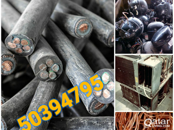 we buy scrap, Cable, Use Ac, Copper pipe, wire