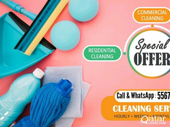 Family cleaning service low price