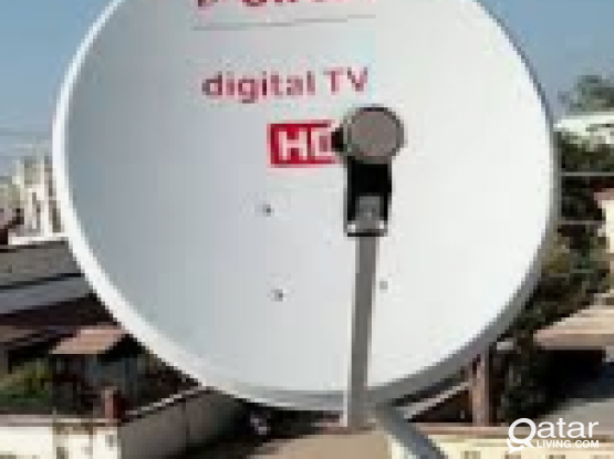 All kinds Airtel dish Tv and any satellite work 33191271
