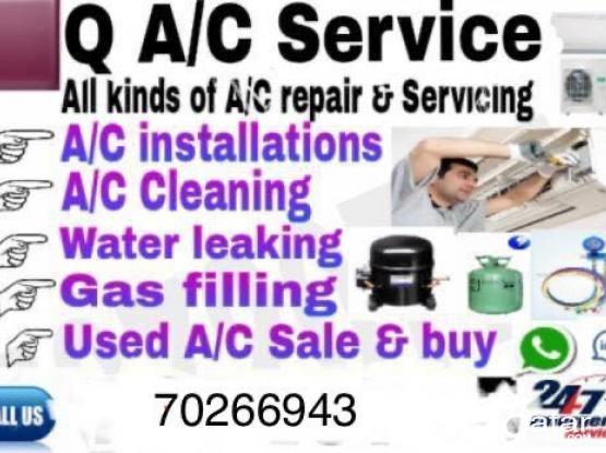 Ac  service fixing reporting work call 70266943