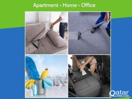 cleaning services in Doha  Make it like brand New and fresh !!! -
