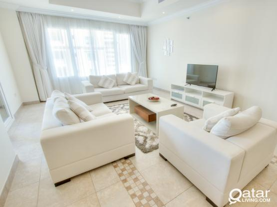 For sale: elegant Fully furnished 2 bhk @Porto Arabia