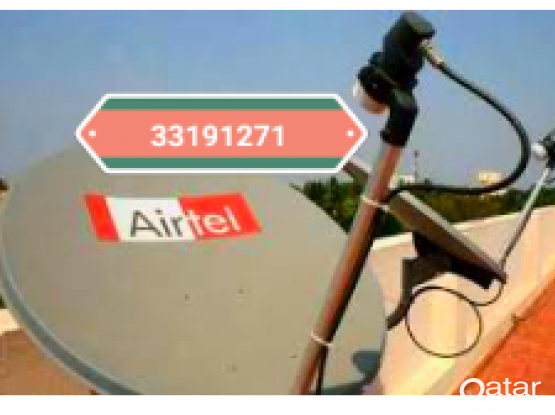 AIRTEL DISH AND ANY SATELLITE WORK CALL 33191271 ALSO ELECTRIC,  PLUMBING ALL MAINTENANCEWORK