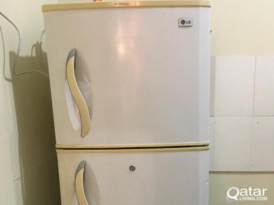 Double Door Refrigerator  (LG)