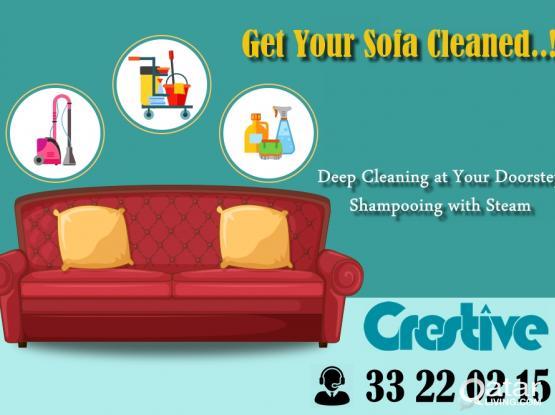 Sofa & Carpet  Deep Cleaning  # Car Detailing