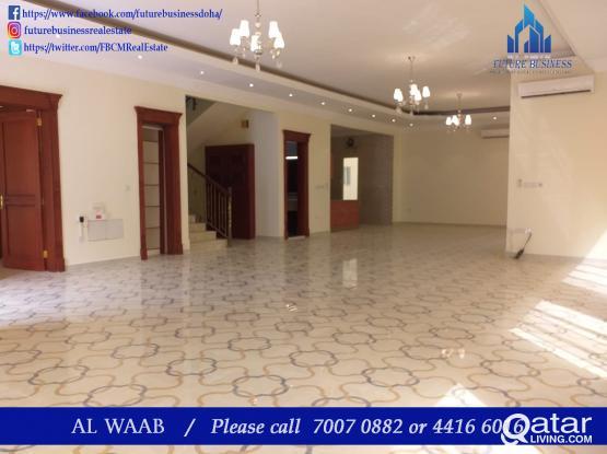4BHK Unfurnished BIg Villa for rent in Al Waab
