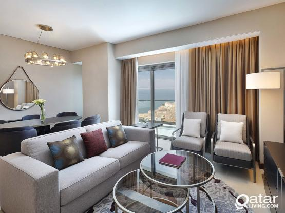 Brand New, Fully Furnished 2 Bedroom