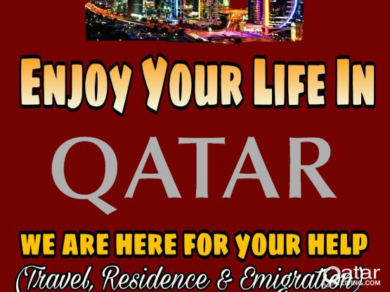 On Arrival Extension / Qatar visa / job and legal consulting/ /Air ticket/
