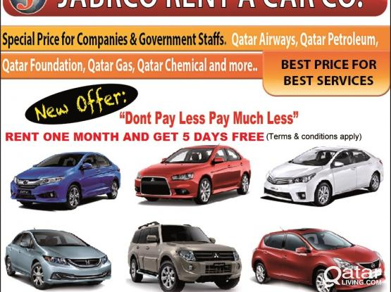 Now Save QR 300  For One Month Rent