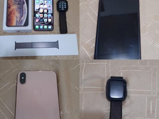 I phone XS MAX with i watch series 4