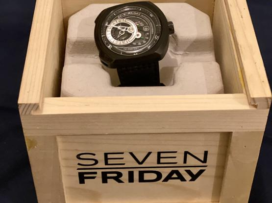 Seven Friday Q-Series Black Dial Automatic Men's Watch Q3/05.