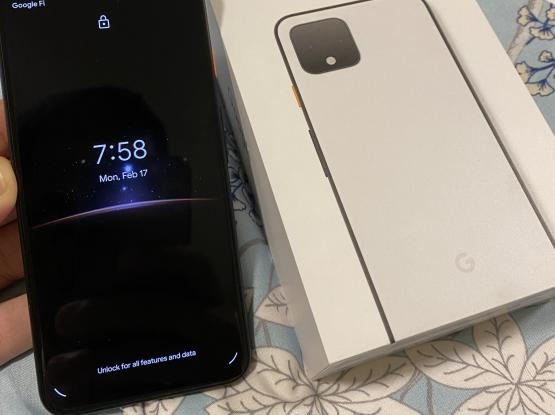 Google Pixel 4 white 64 GB LIKE New