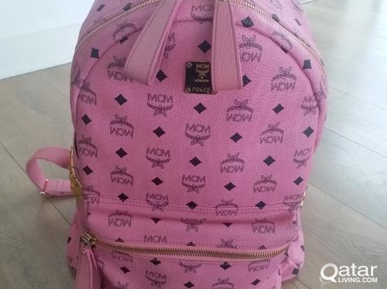 MCM Studded Backpack Large Authentic