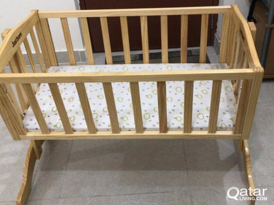 NEW BORN BABY CRADLE GOOD CONDTION
