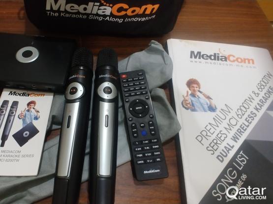 Mediacom MCI 6200TW 2x wireless karaoke