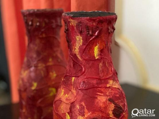 Hand made bottle craft