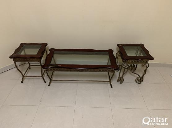 4 Glass Tables for sale , antique glass tables and 2 seater glass tables