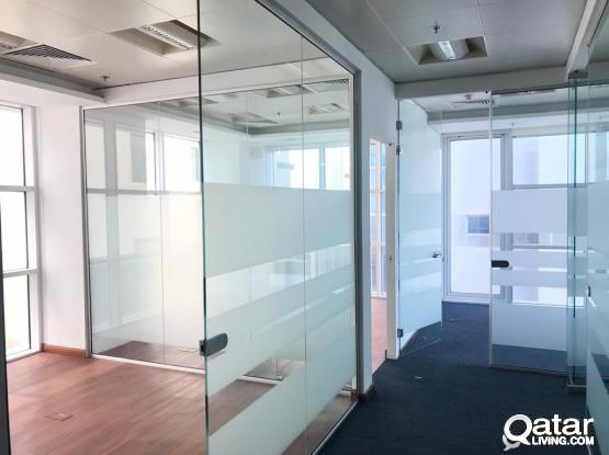 2 months free 200 Sqm Partitioned Office in Old Salata