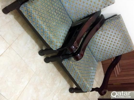 Wooden Sofa with Good Condition