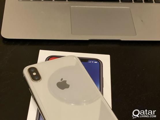 iPhone X 256 GB QAR 2000