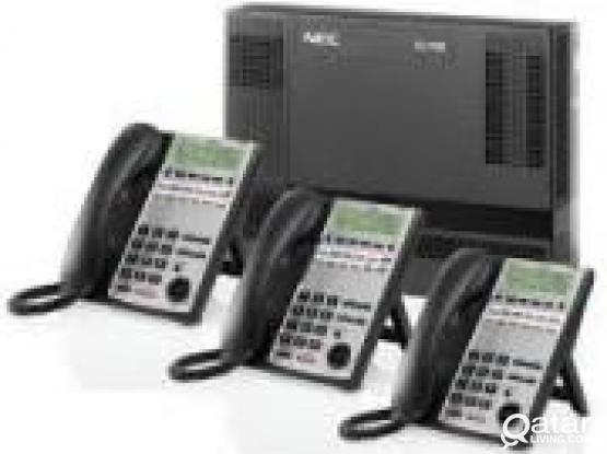 PABX IP PABX - NEC, Panasonic, Avaya - Supply, Cabling, Installation