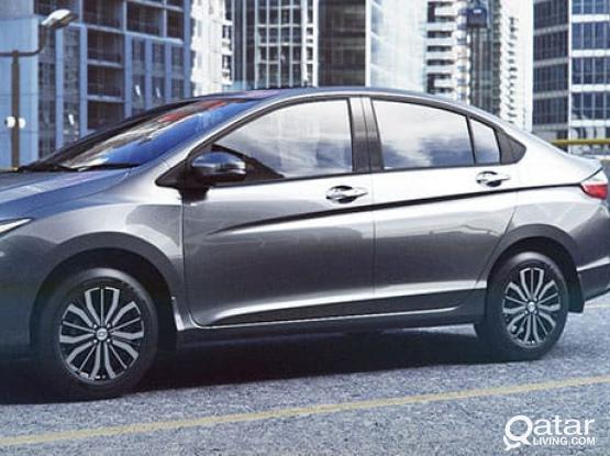 MONTHLY 1500 QAR & MORE THAN 10 DAYS 60 QAR PER DAY FOR RENT ON  HONDA CITY  /50399150,30177928 CALL