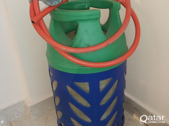 Woqod  big gas cylinder with the wire 300 QR final price