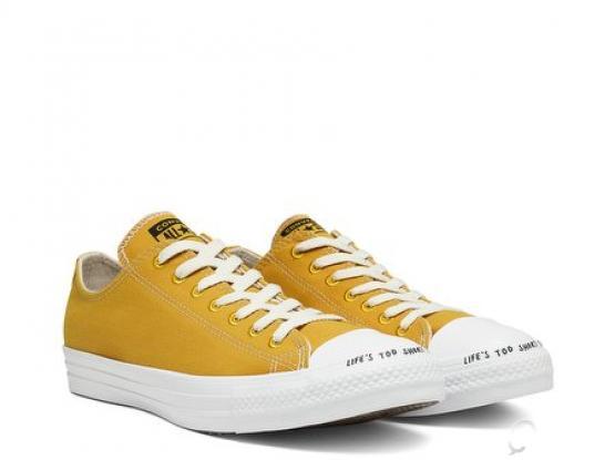 Converse Renew CTAS Ox Gold Dart & White Shoes