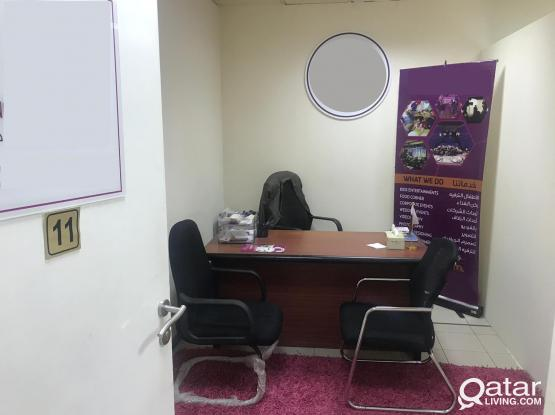 100233 Unfurnished Office Space Available for Rent in Doha