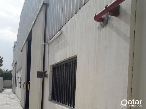 1340sqmtr warehouse for rent at industrial area
