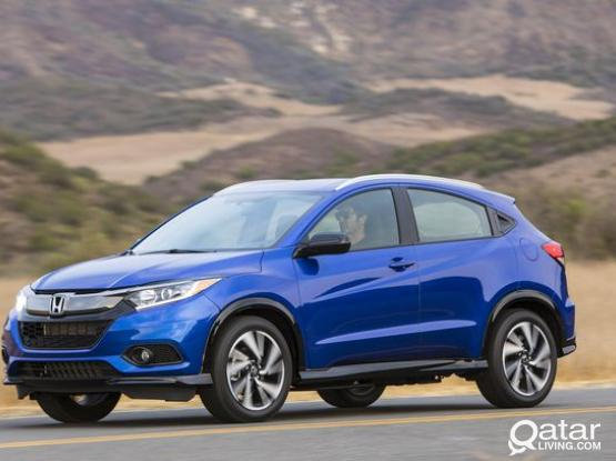 NOW HIRE BARND NEW HONDA HRV SUV CAR  0KM ONLY 2500 QR PER MONTH + 3 DAYS EXTRA FREE 4415 4467