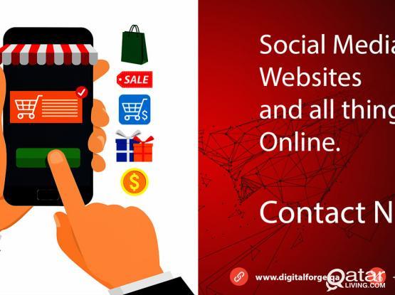 Website Designing, Social media or Digital Marketing