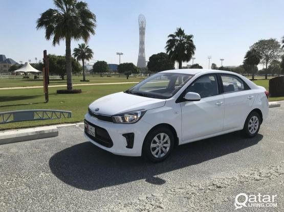 KIA PEGAS 2020 model / 55 QR daily (On Monthly Contract)