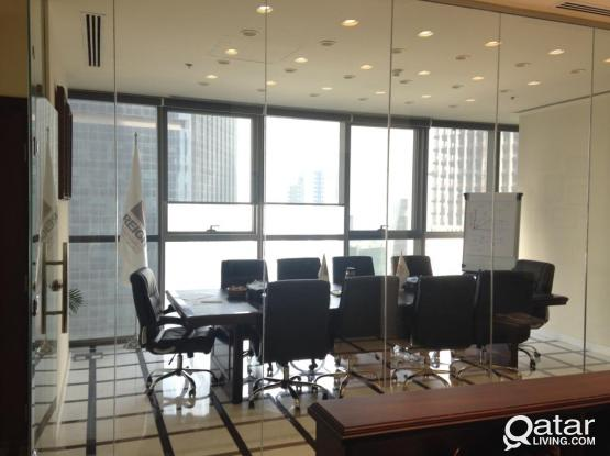 216 Sqm Fully Furnished Office in Palm Tower B