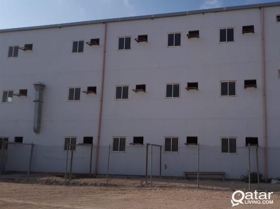 58 ROOMS CAMP AT AL SHAMAL / RUWAIS SHORT TERM OR LONG TERM BASIS