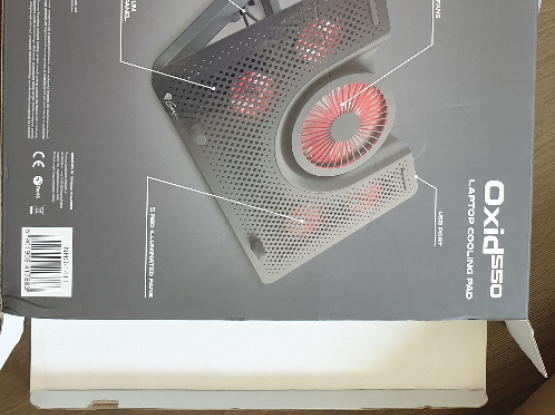 Laptop LED COOLing Pad with 5 fans
