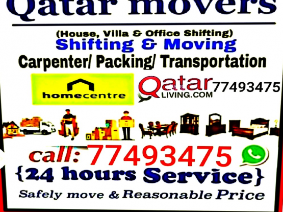 Qatar Movers Shifting Moving Transfer Services:77493475