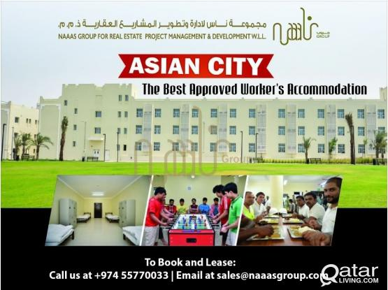 Workers and Jr Staff Accommodation with complete Facilities