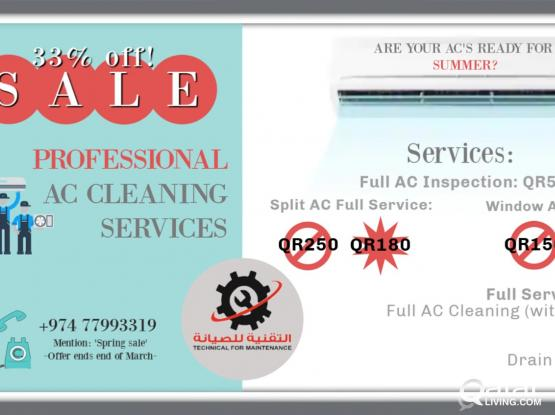 AC Servicing Spring Offer