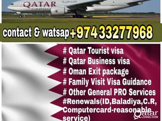 FREE VISA AVAILABLE,/Air Ticket /ON ARRIVAL EXTENSION/ Tourist visa/ Business  visa/ PRO works