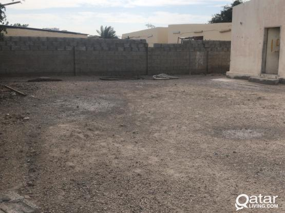 APPROVED LAND FOR STORE/YARD/GARAGGE