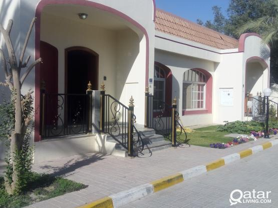Semi Detached  villas with front garden side yard and backyard  in Tumama near kahrama one month free